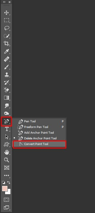 Use the Convert Point Tool