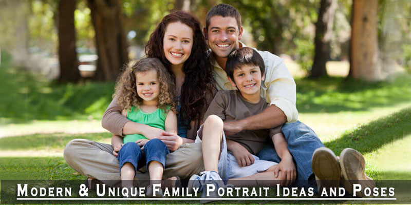 Family Portrait Ideas and Poses