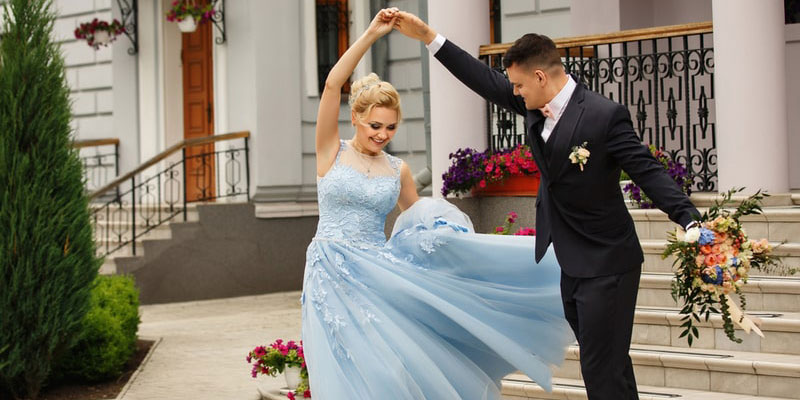 First Dance of Bride and Groom Poses