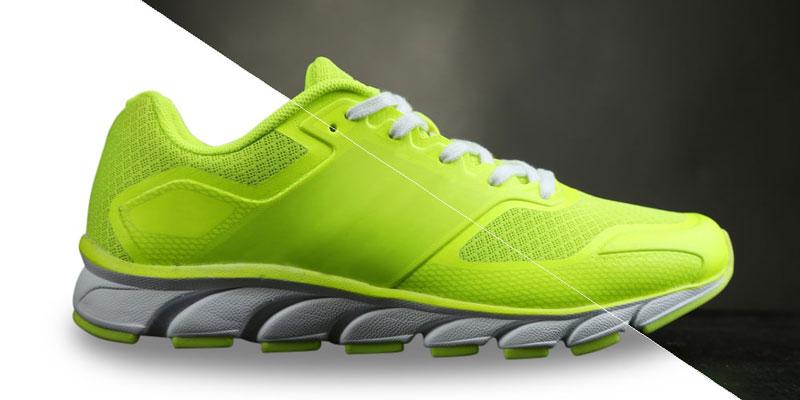 Footwear retouching in photoshop