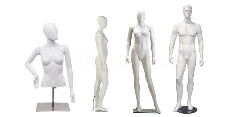 Solid Color Mannequin for Photography