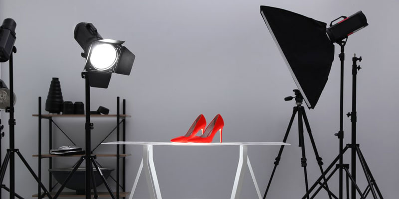 Using Light for Shoe Photography