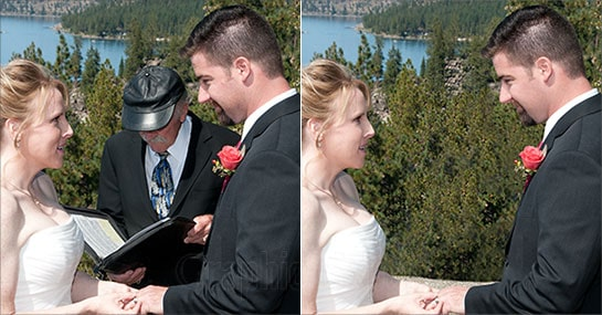Wedding Photo Retouching Image Example