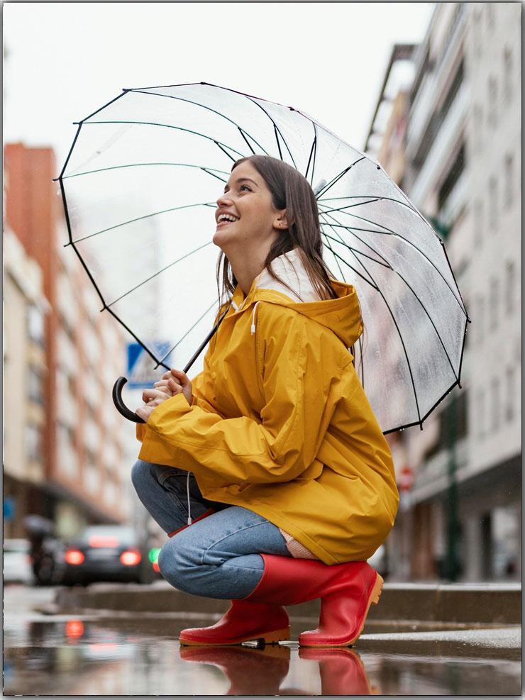 Poses With Umbrella