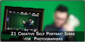 21 Creative Self Portrait Ideas for Photographers