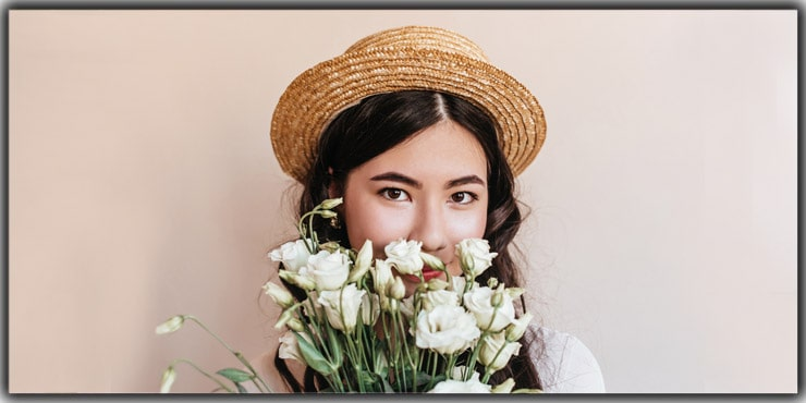 Affix Flowers Self Portrait Ideas