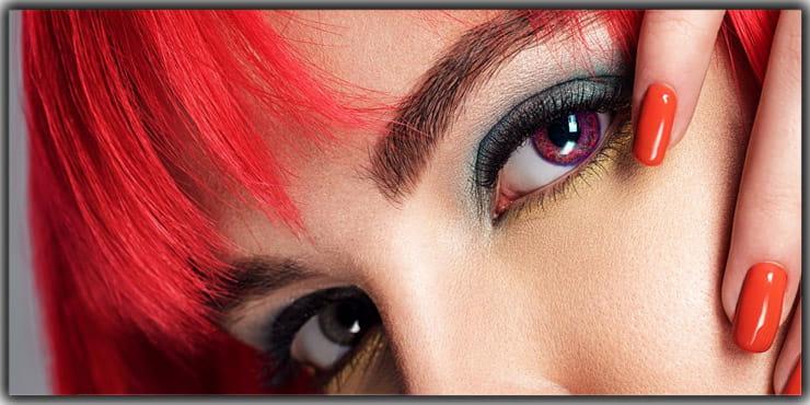 Self Portrait Idea- Focus On The Eye Lenses