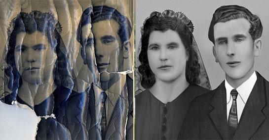 Black & White Photo Restoration