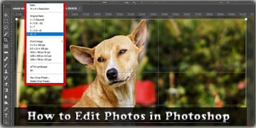 How to Edit Photos in Photoshop