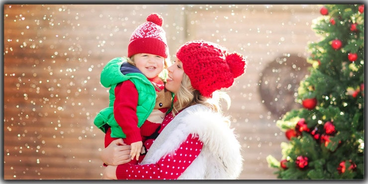 Christmas Photography Tips: Keeping the natural light