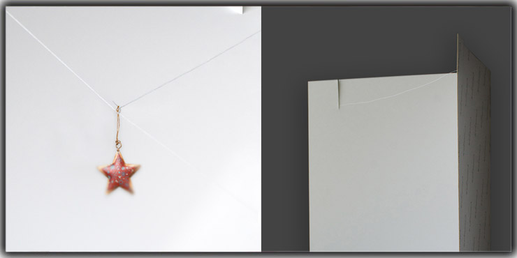Usage of String for Jewelry Photography