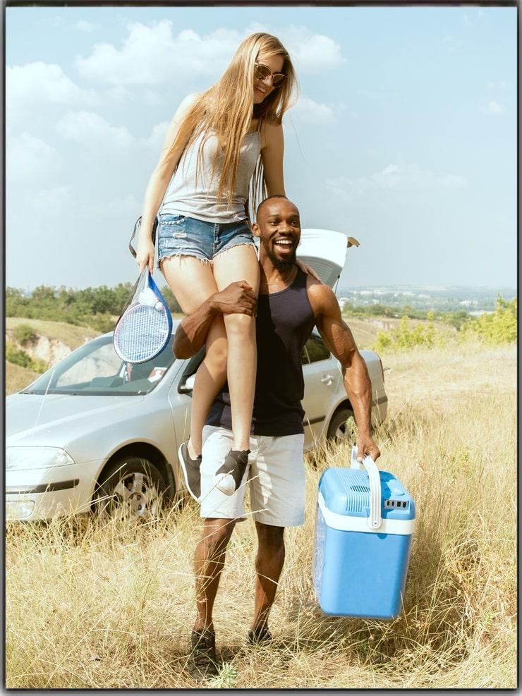 Climb On Your Partner's Shoulder