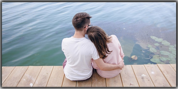 Resting your head on your Partner's Shoulder