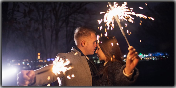 Sparklers On Hand