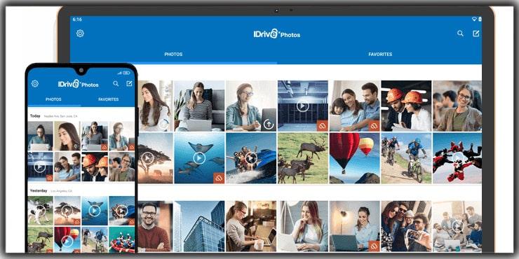 The Best Photo Storage Apps IDrive