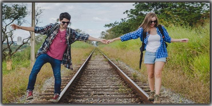Walking on Train Tracks