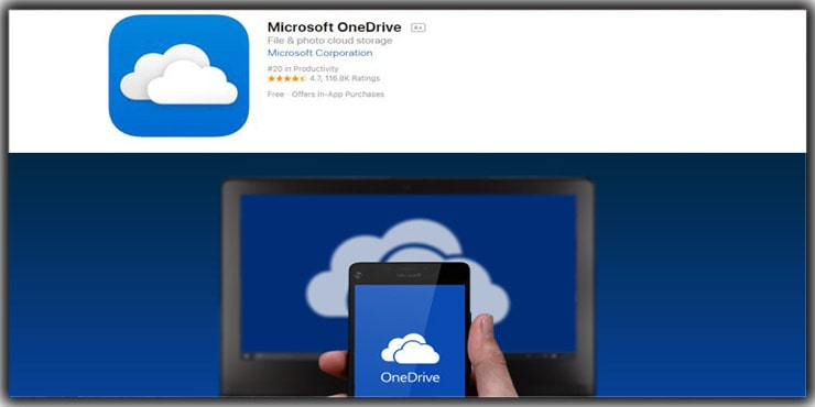 photo storage app Microsoft OneDrive